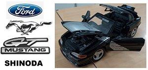 """Maisto - Ford Mustang Boss GT """"Shinoda"""" (Sem Caixa) - 1/24"""