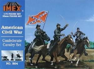 Imex - American Civil War Confederate Cavalry Set - 1/72