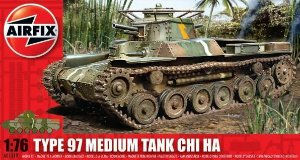 Airfix - Type 97 Medium Tank Chi Ha - 1/76
