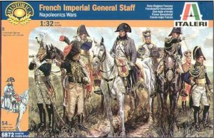 Italeri - French Imperial General Staff - 1/32