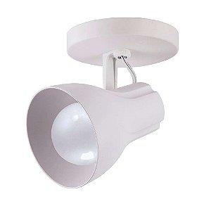 Spot Sobrepor Direcionável Octa Plus Branco - Design Moderno Quarto/Sala - 1xE27 Bivolt - Startec