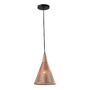 Lustre/Pendente Alumínio RPX Brise Cobre/Rose Gold Design Moderno Industrial - Startec