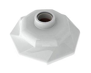 Plafonier Spiralle Octa Branco E27 60W Bivolt - Startec