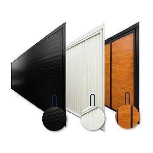 Kit Basculante Portão de Alumínio Lambril Horizontal - Garen
