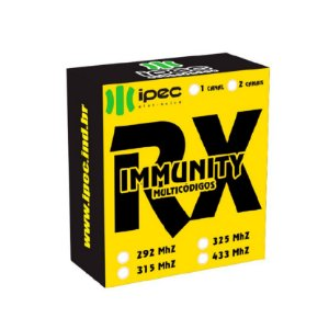 Receptor Mono Immunity 1 Canal - Ipec