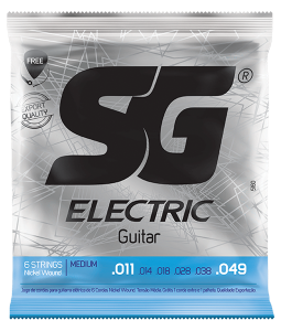ENCORDOAMENTO SG GUITARRA 011 NIQUEL 5160