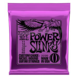 ENCORDOAMENTO GUITARRA 011 Power Slink