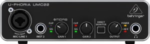 UMC22 INTERFACE DE ÁUDIO BEHRINGER
