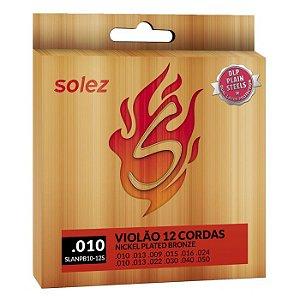 ENCORDOAMENTO SOLEZ VIOLÃO 12 CORDAS SLANPB10-12S
