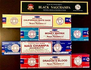 Kit Incensos Indianos - Coleção Nag Champa