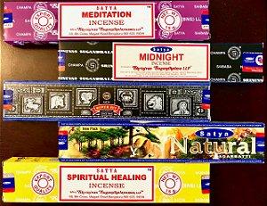 Kit Incensos Indianos - Coleção Meditation