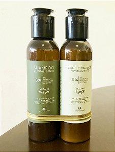 Kit Shampoo e Condicionador 120 ml - Maly Caran