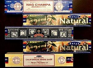 Kit Incensos Indianos - Coleção Nag Natural