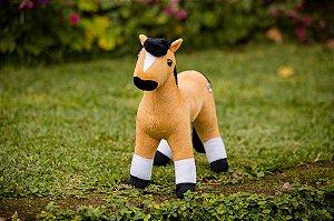 Pelúcia Cavalo Crioulo Gateado