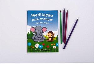 Livrinho de Colorir – Meditação para Crianças da ONG Mente Viva