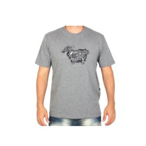 Camisa Lost Ovelha Mecânica - Cinza