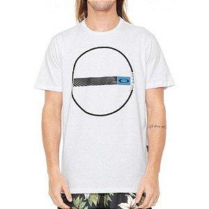 Camisa Oakley Wave Tee - Branca