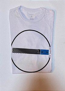 Camiseta Oakley Wave Tee - Branca