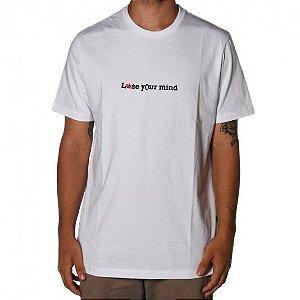 Camiseta Lost Lose  Your Mind - Branca