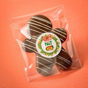 Boneco Ginger Com Chocolate