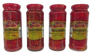 Pimenta em Conserva - Aroma D' Minas (Diversos Sabores)