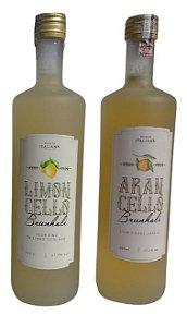 Licor Brunholi (Arancello ou Limoncello)
