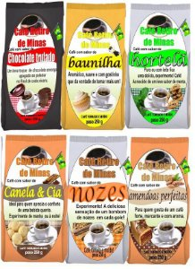 Café Retiro de Minas Saborizado - 250g (Diversos Sabores)