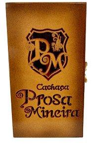 Caixa de Presente (Porta Cachaça) da Prosa Mineira