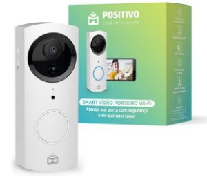 Smart Video Porteiro Wi-Fi - Positivo