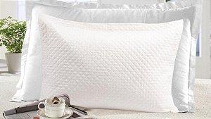 Porta Travesseiro Gigante com 4 Abas Moderno Realce - Marfim - Sultan