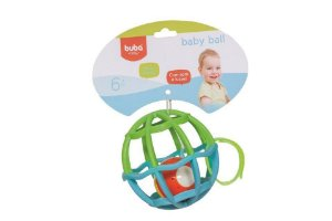 BABY BALL AZUL LUZ E SOM BUBA 6M+