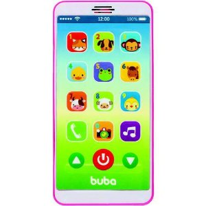 BABY PHONE ROSA BUBA 12M+
