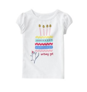 BLUSA BIRTHDAY GIRL GYMBOREE
