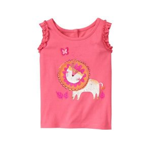 CAMISETA GYMBOREE ESTAMPADA