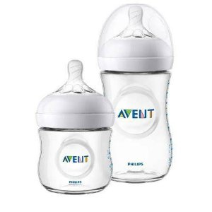 Kit 2 Mamadeiras Pétala 0m+ 125ml/ 1m+ 260Ml Philips Avent