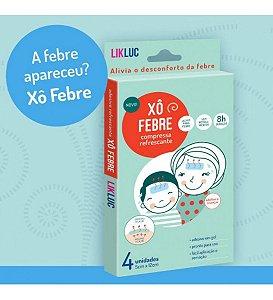 LIKLUC - XÔ FEBRE COMPRESSAS REFRESCANTES PARA ALIVIO DE FEBRE