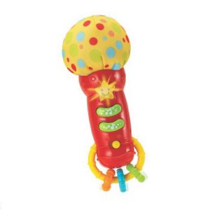 MICROFONE BABY ESTRELA DO ROCK YESTOYS 3M+