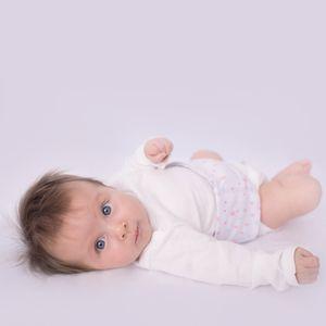 CINTA TÉRMICA ABDOMINAL PARA BEBÊ ESTRELAS PAPI BABY