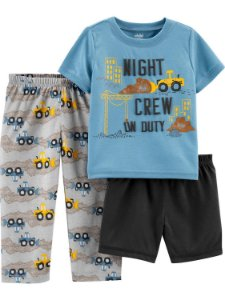 CONJUNTO 3 PEÇAS NIGHT CREW CHILD OF MINE