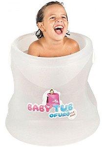 BANHEIRA INFANTIL OFURÔ CRISTAL TRANSPARENTE BABY TUB