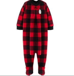 MACACÃO FLEECE PINGUIM SIMPLE JOYS BY CARTER'S
