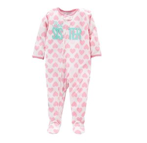 MACACÃO FLEECE  SISTER SIMPLE JOYS BY CARTER'S