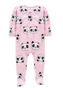 MACACÃO FLEECE PANDINHAS SIMPLE JOYS BY CARTER'S