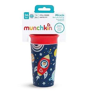 Copo De Treinamento Miracle Anti Derramamento 360° 266ml Astronauta Munchkin
