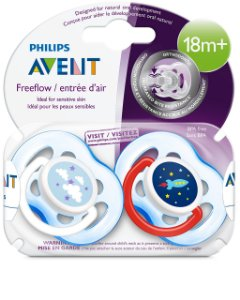 Kit 2 Chupetas Freeflow 18m+ Philips Avent