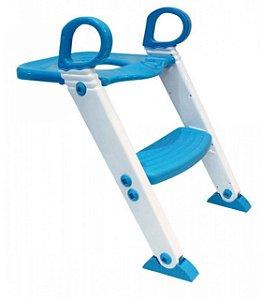 Redutor De Assento Com Escada Azul KaBaby