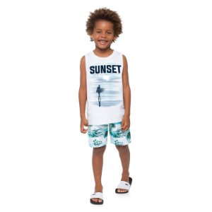 CAMISETA BRANCA SUNSET MILON