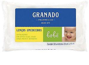 LENÇO UMEDECIDOS C/50 GRANADO