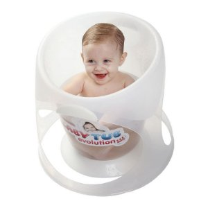 BANHEIRA EVOLUTION TRANSPARENTE BABY TUB