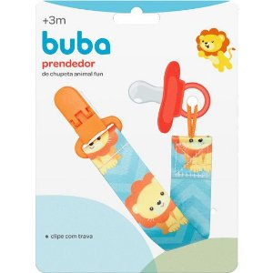 PRENDEDOR DE CHUPETA ANIMAL FUN BUBA